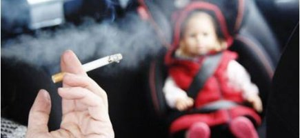 Secondhand smoke causes 800 child visits a day to GP's